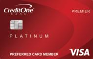 Credit One Bank® Platinum Premier Visa
