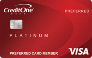 Credit One Bank® Platinum Preferred